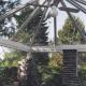 Freistehender Wintergartenpavillion<br />als Pflanzenhaus<br /><br />Dach mit Sicherheitsglas<br />Seitenscheiben in Echtantikglas mit Bleistegen